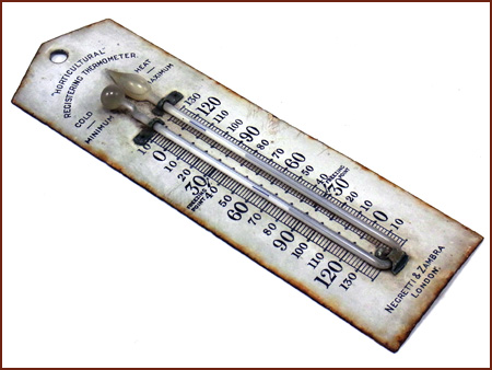 first mercury thermometer - photo #38